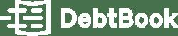 DebtBook Logo - white